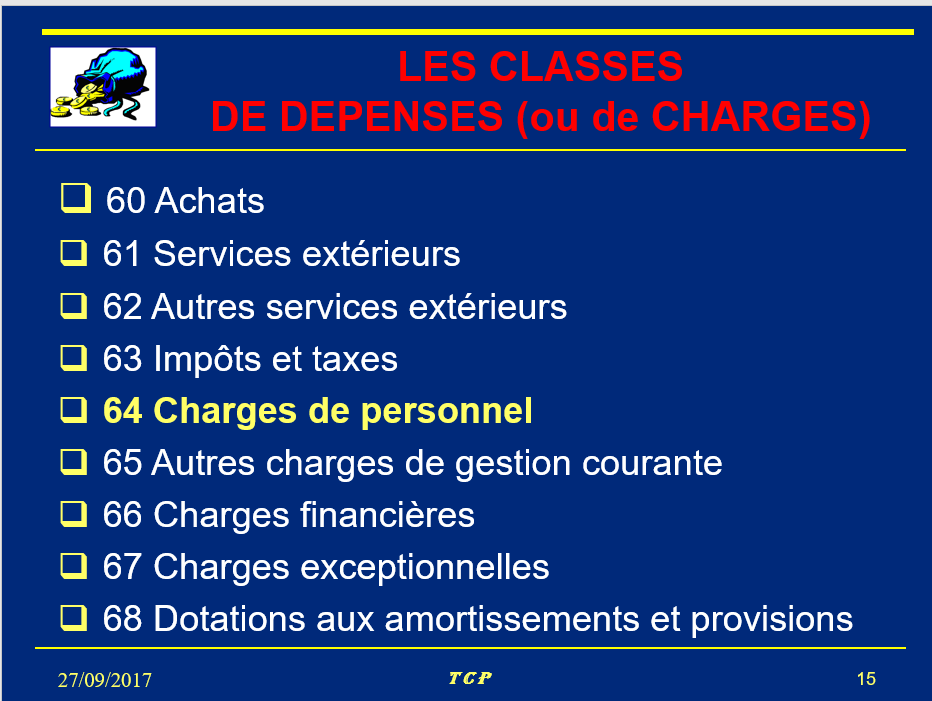 les-classes-de-depenses